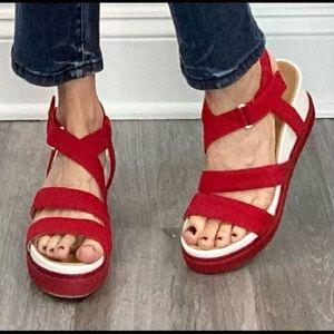 Dr Scholl's Original Collection flatform sandals